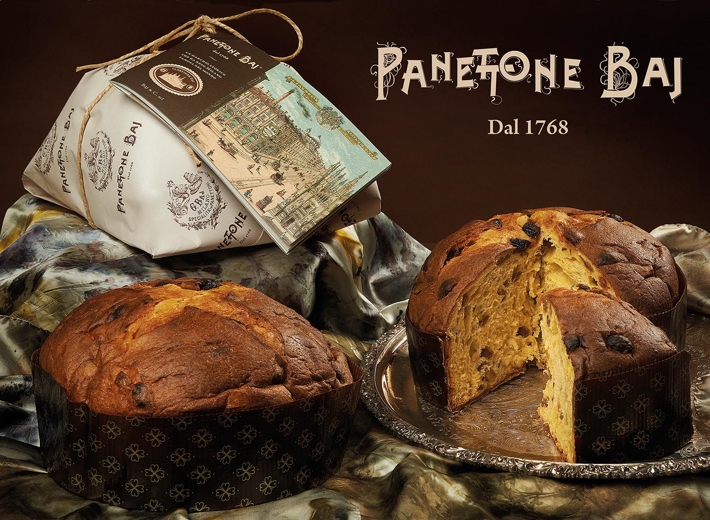 Panettone Baj - Immgine sconfezionata